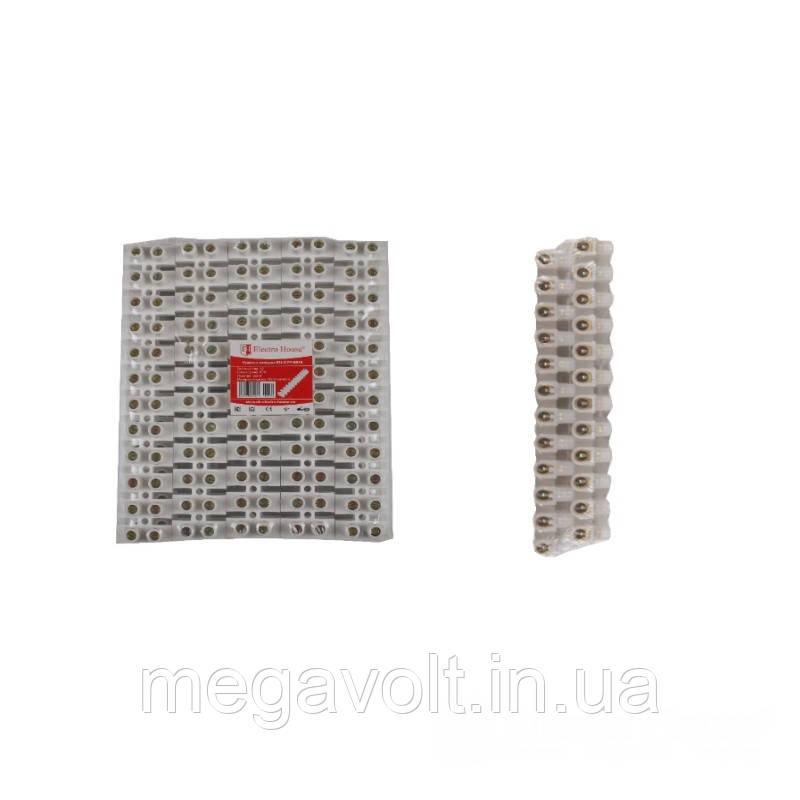 Клеммная колодка 60A 25mm² Полипропилен винтовой зажим