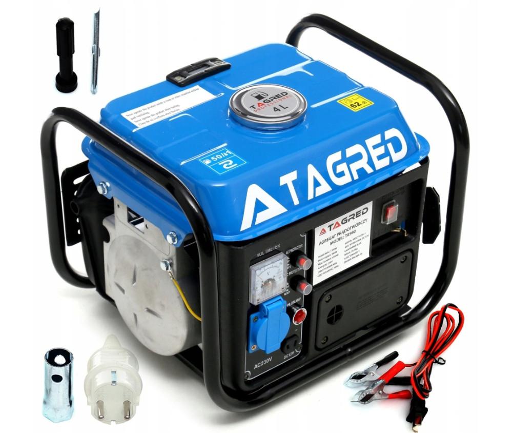Генератор бензиновый TAGRED 1550W 2,1KM