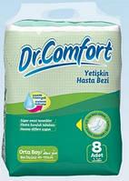 Подгузник для взрослых Dr.Comfort, Standart, М, 85-125см, 8шт.