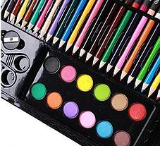 Наборы для рисования Art set на 150 предметов в чемоданчике, фото 3
