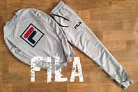 Спортивный костюм мужской серый FILA Фила