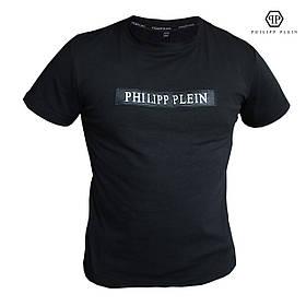 Мужская футболка с принтом. Реплика PHILIPP PLEIN. Мужская одежда