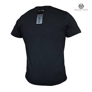 Мужская футболка с принтом. Реплика PHILIPP PLEIN. Мужская одежда, фото 2