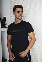 Мужская футболка с принтом. Реплика PHILIPP PLEIN. Мужская одежда, фото 3