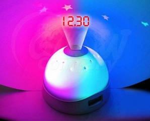 Цифровой будильник с ЖК-дисплеем