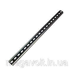 DIN рейка 1метр, толщина 0,8мм.