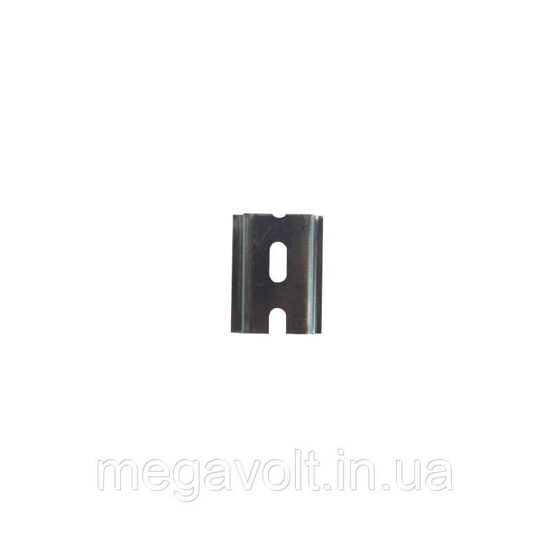 DIN рейка 45мм. (2 модуля), толщина 0,9мм.