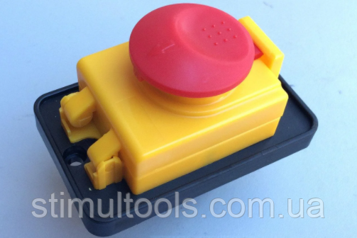 Кнопка (пускатель) для бетономешалки на 5 контактов