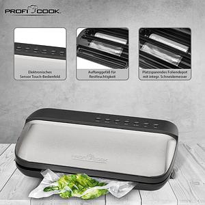 Вакуумний пакувальник Profi Cook PC-VK 1134