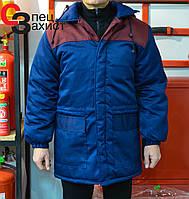 Куртка робоча зимова Бургунді