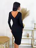 Платье женское миди вечернее нарядное, фото 6