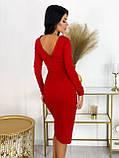 Платье женское миди вечернее нарядное, фото 2