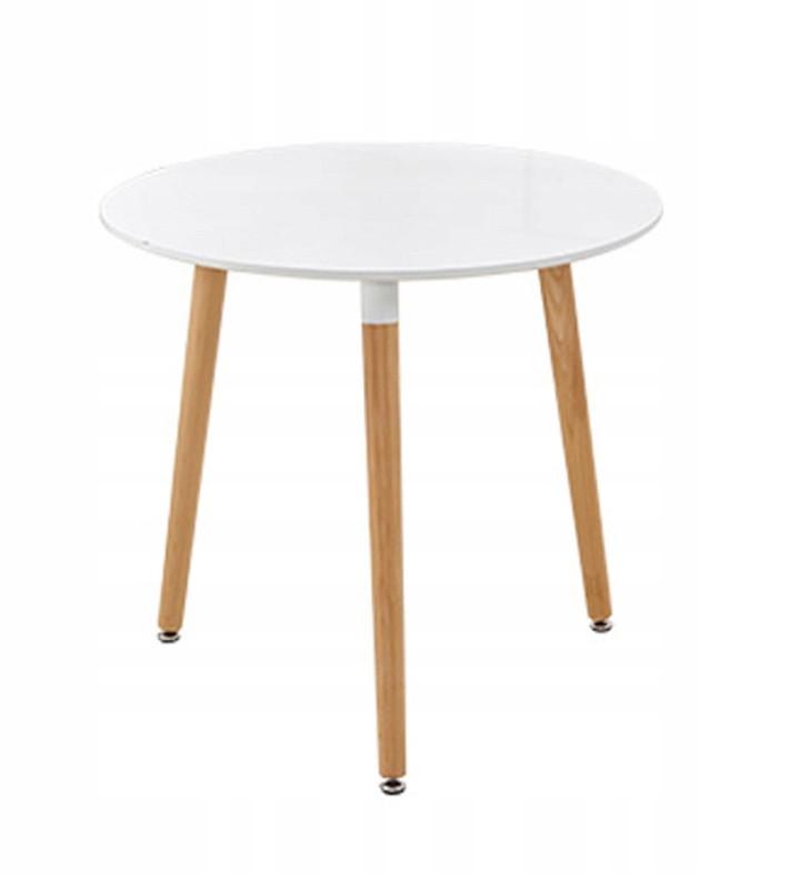 Кухонный стол круглый MDF 80 см