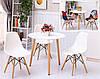 Кухонный стол круглый MDF 80 см, фото 6