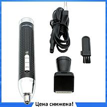 Триммер Gemei GM 3120 2в1 - Электробритва для носа, ушей, висков и шеи, аккумуляторный триммер, фото 2