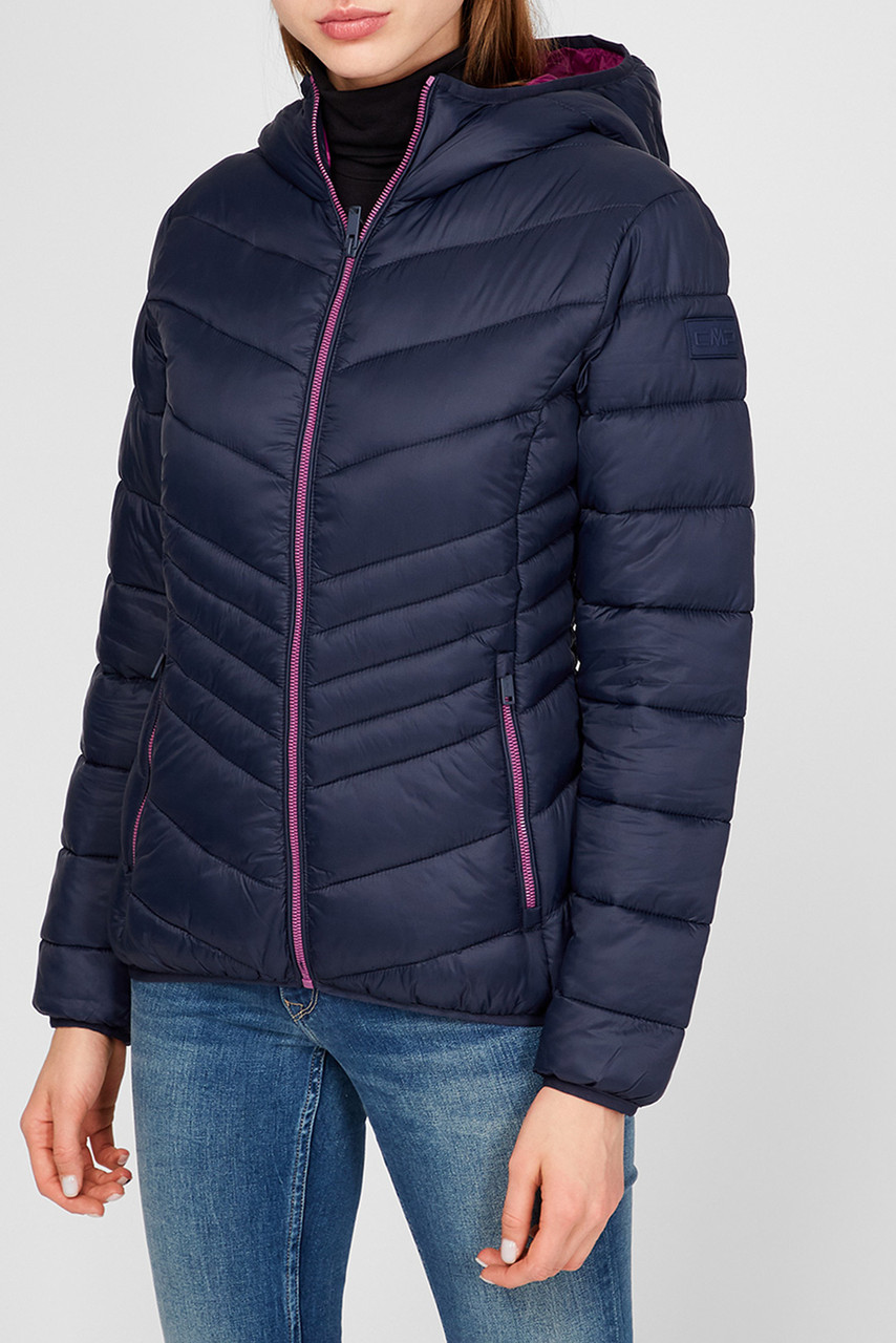 Женская куртка пуховик CMP Fix Hood 30K3656-N950