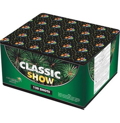 Фейерверк \ Салют CLASSIC SHOW Классическое шоу Калибр 30 мм \ 120 выстрелов GWM 6123, фото 2