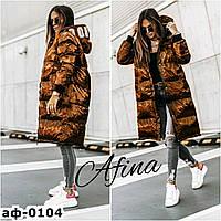 Женская стильная блестящая зимняя куртка С, М +большие размеры Разные цвета, фото 1