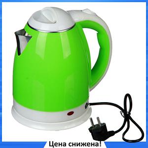 Электрочайник DOMOTEC MS-5025C - Чайник электрический 2.0 л 220V/1500W Зеленый