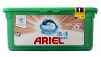 Капсули для прання Sensitive 28шт - Ariel