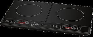 Индукционная двойная плита Clatronic DKI 3609 черный