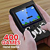 Игровая приставка SUP Game Box 400в1 Черная - Приставка Dendy с подключением к ТВ, портативная консоль 400 игр, фото 5