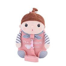 Рюкзак Кукла Сластёна, розовый Metoys