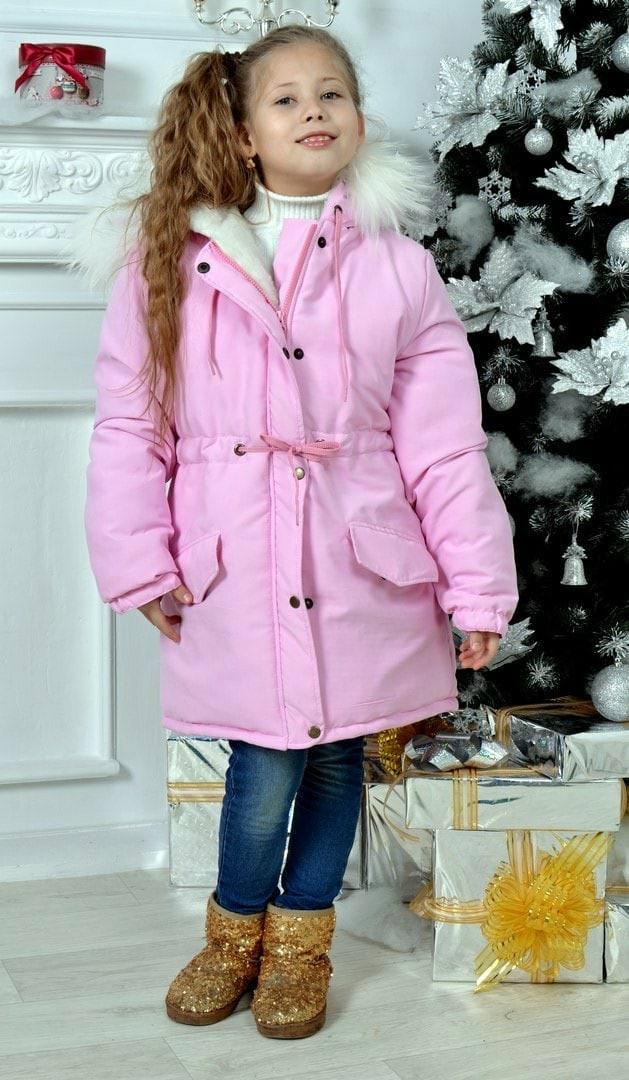 Куртка парка детская зимняя