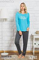 Женская пижама с брюками Vienetta 0040601147 Синий
