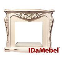 Портал IDaMebel Dallas White с патиной-золото, фото 1