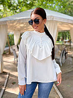 Женская блузка с рюшами, фото 1