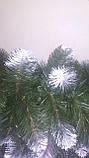 *Хвойна 3 м з шишками та снігом на камін,вікна,двери, фото 4