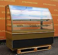 Кондитерская холодильная витрина «UNIS Georgia III gold 1500», 1.5 м., (Польша), отличное состояние, Б/у, фото 1