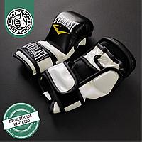 Рукавички для ММА Еверласт для єдиноборств професійні гібридні EVERLAST Чорний-білий (БП4612-BKW) S