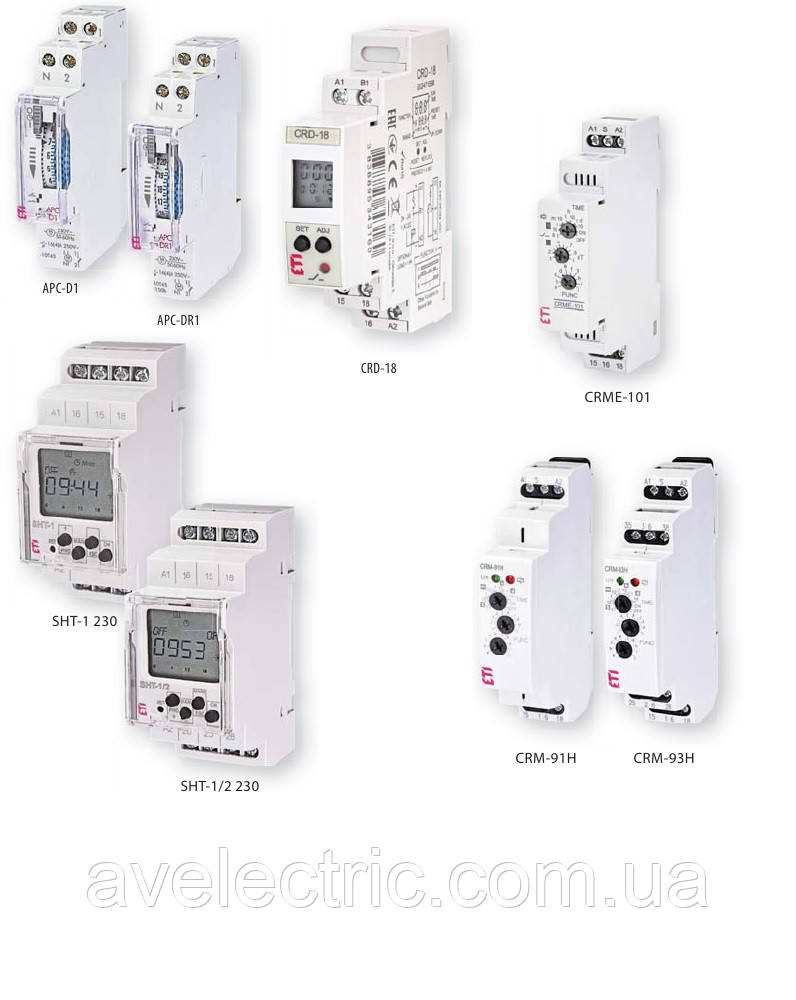 Реле управления лестничным освещением CRM-4 230V, ETI, 2470012
