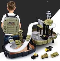 Рюкзак Military Base Special Forces Ігровий набір для хлопчиків військова база для дітей