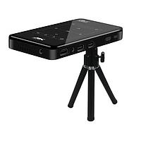 Портативный мини проектор SMART P9 с Wi-Fi и Bluetooth Мобильный Led видеопроектор android с аккумулятором