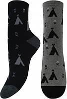 Женские махровые носки ЛЕГКА ХОДА с орнаментом