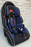 Автокресло универсальное цвет чёрно-синий 9-36 кг, с бустером, Joy G 2010, фото 2