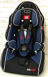 Автокресло универсальное цвет чёрно-синий 9-36 кг, с бустером, Joy G 2010, фото 4