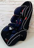 Автокресло универсальное цвет чёрно-синий 9-36 кг, с бустером, Joy G 2010, фото 3