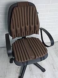 Ортопедичні подушки, накидки EKKOSEAT для сидіння на офісні і комп'ютерні крісла.