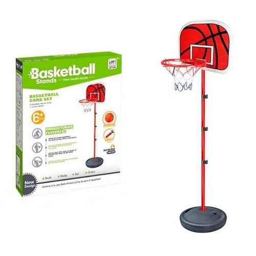 Баскетбольная стойка 201 см, с мячом и насосом в комплекте (MR 0333)