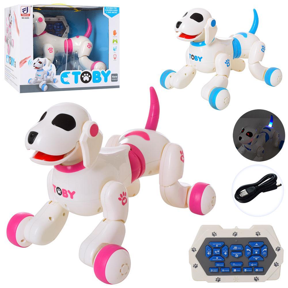 Интерактивная собака робот на радиоуправлении TOBY 8205