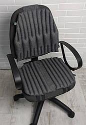 Ортопедичні подушки, накидки EKKOSEAT для сидіння на офісні і комп'ютерні крісла. Класика.