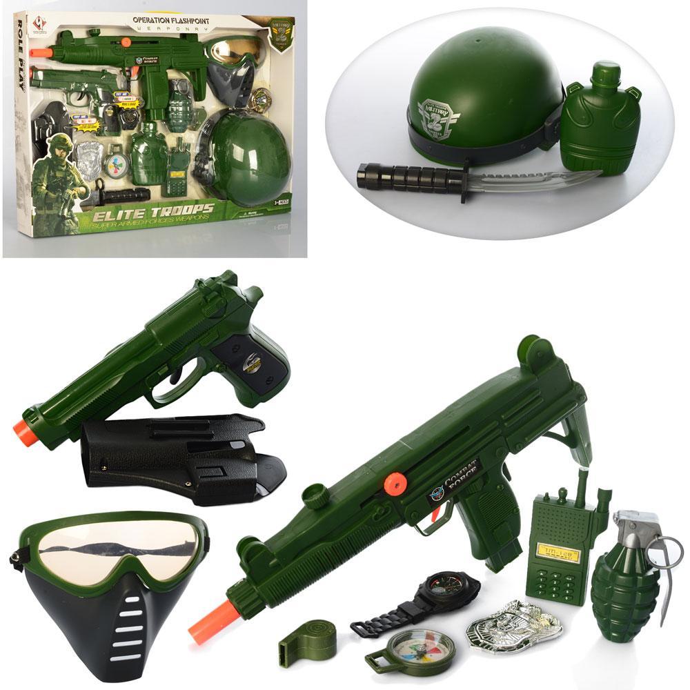 Игровой набор военной экипировки Elite Troops M015A