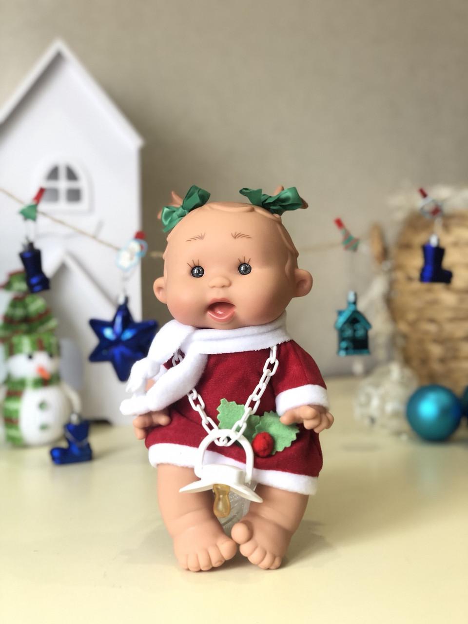 Испанская кукла-пупс Pepotes в новогоднем костюме (Nines d'Onil)