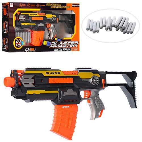 Игрушечный бластер SB 409 с мягкими снарядами (20 шт)