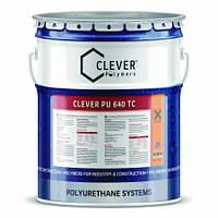 Прозрачное защитное покрытие для пола Clever 640 TC