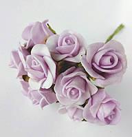 Трояндочки з латексу бузкова (5), фото 1